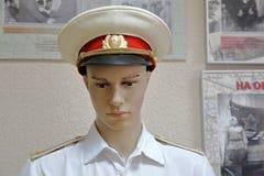 Stary mundur żołnierze Czerwony Radziecki wojsko zdjęcie royalty free