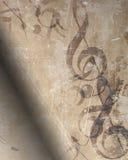 stary muzyczny opończy Fotografia Royalty Free