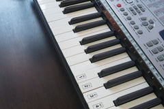 Stary Muzykalny Elektroniczny Klasyczny pianino Obraz Royalty Free