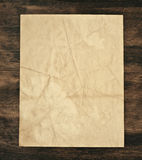 stary nadmierny papierowy drewno Zdjęcie Stock