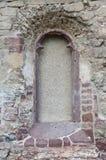 Stary nieżywy okno zdjęcie stock