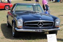 Stary Niemiecki sporta samochodu przód Obrazy Stock