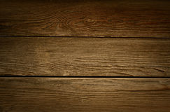 Stary nieociosany brown drewno Obraz Royalty Free