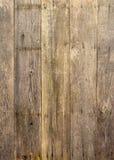 Stary nieociosany drewniany tło Obrazy Royalty Free