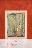 stary nieociosany okno Zdjęcia Stock