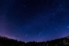 Stary Night Photo Stock Images