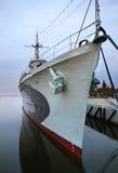 Stary niszczyciel w Gdynia Polska Obraz Royalty Free