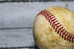 stary noszących baseballu Obrazy Stock