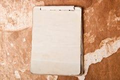 Stary notatnik Obraz Royalty Free