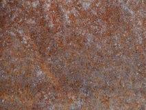 Stary ośniedziały brown metal Zdjęcie Stock