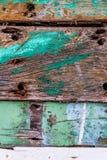 Stary ośniedziały koloru twardego drzewa deski zbliżenie zdjęcie royalty free