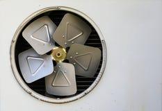 Stary ośniedziały lotniczy conditioner Fotografia Royalty Free