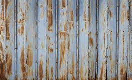 Stary ośniedziały metal bramy tło Obraz Royalty Free