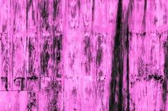 Stary ośniedziały purpury żelaza ściany tło Obraz Stock