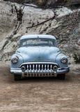 Stary ośniedziały samochód w Nelson Nevada miasto widmo Zdjęcia Royalty Free