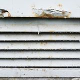 Stary ośniedziały wentylaci grille czerep Fotografia Royalty Free