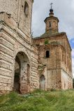 Stary, obdrapany trójca kościół, Rosja, Kotlas Obrazy Royalty Free