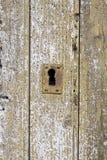 Stary odłupany drewno zdjęcia stock