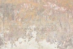 Stary odłupany i zatarty ścienny tekstury tło zdjęcie stock