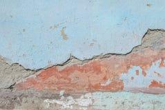Stary odłupany tynk na betonowej ścianie, tło tekstura zdjęcie royalty free