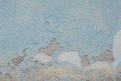 Stary odłupany tynk na betonowej ścianie, tekstury tło obraz royalty free
