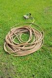 Stary Ogrodowy wąż elastyczny Obrazy Royalty Free