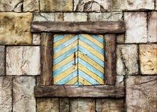 Stary okno Obrazy Stock