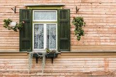 Stary okno Zdjęcie Stock