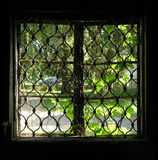 stary okno Obrazy Royalty Free