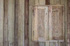 stary okno drewna Obrazy Royalty Free
