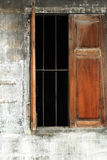 Stary okno, Tajlandia, Azja Obrazy Royalty Free