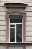 Stary okno w klasycznym stylu zdjęcia stock
