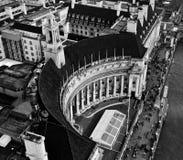 Stary okręg administracyjny Hall, Londyn, Anglia Fotografia Stock