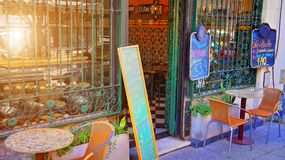 Stary okręg Buenos Aires San Telmo Obrazy Royalty Free