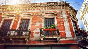 Stary okręg Buenos Aires San Telmo Zdjęcie Royalty Free