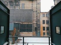 stary opuszczony budynek Zdjęcie Royalty Free