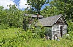 stary opuszczony dom Zdjęcia Royalty Free