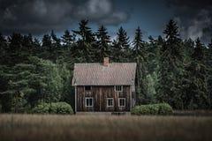stary opuszczony dom Obrazy Stock