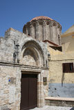 Stary ortodoksyjny kościół zdjęcie royalty free