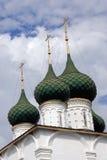 Stary ortodoksyjny kościół Obrazy Royalty Free