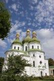 Stary ortodoksyjny kościół w Nizhyn Fotografia Royalty Free