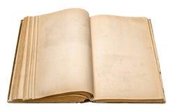 Stary otwiera książkę Obrazy Royalty Free