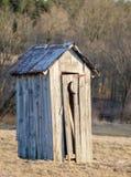 Stary Outhouse Zdjęcia Stock