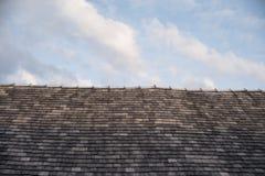Stary półkowy dach Obraz Stock