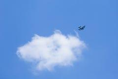 Stary płaski latanie Fotografia Stock