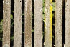 stary płotu drewna Fotografia Stock