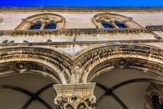 Stary pałac w Dubrovnik, Chorwacja obrazy royalty free