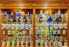 Stary pachnidło sklep zdjęcie stock