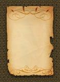 stary papier Ilustracji