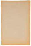 Stary papier odizolowywający na białym tle fotografia royalty free
